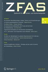 Zeitschrift für Außen- und Sicherheitspolitik 3/2017