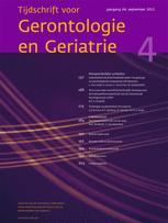Tijdschrift voor Gerontologie en Geriatrie, 2007