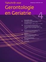 Tijdschrift voor Gerontologie en Geriatrie