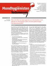 Mondhygienisten vademecum 1/2014