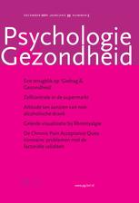 Psychologie en Gezondheid, jaargang 2007
