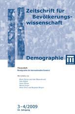 Zeitschrift für Bevölkerungswissenschaft