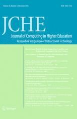 Journal of Computing in Higher Education