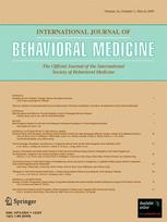 International Journal of Behavioral Medicine