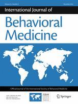 International Journal of Behavioral Medicine