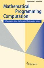 Mathematical Programming Computation
