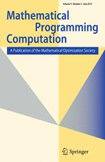 Mathematical Programming Computation