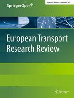 European Transport Research Review 3/2017