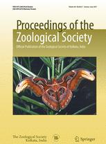 Proceedings of the Zoological Society