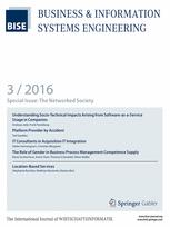 Business & Information Systems Engineering 3/2016