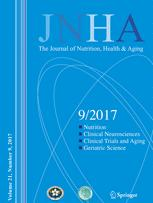 JNHA - The Journal of Nutrition, Health and Aging
