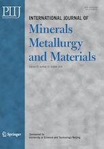 International Journal of Minerals, Metallurgy, and Materials