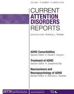 Current Attention Disorders Reports