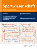 German Journal of Exercise and Sport Research 4/2012