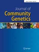 Journal of Community Genetics