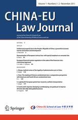 China-EU Law Journal