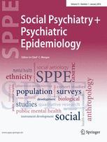 Social Psychiatry and Psychiatric Epidemiology