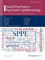 Social Psychiatry and Psychiatric Epidemiology
