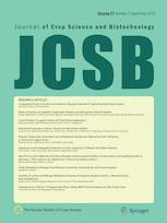 Journal of Crop Science and Biotechnology
