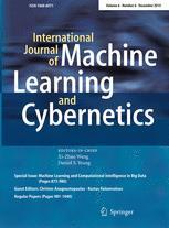 International Journal of Machine Learning and Cybernetics