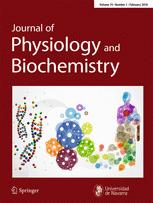 journal of physiology and biochemistry springer reviewers 2017