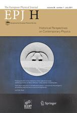 The European Physical Journal H