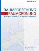 Raumforschung und Raumordnung -  Spatial Research and Planning