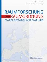 Raumforschung und Raumordnung -  Spatial Research and Planning 3/2017