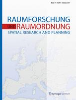 Raumforschung und Raumordnung |  Spatial Research and Planning