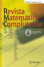 Revista Matemática Complutense
