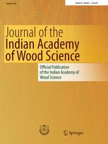 Journal of the Indian Academy of Wood Science