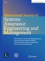 International Journal of System Assurance Engineering and Management