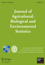 Journal of Agricultural, Biological, and Environmental Statistics