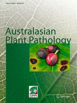 Australian Plant Pathology Society Newsletter