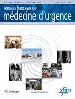 Annales françaises de médecine d'urgence