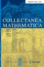 Collectanea mathematica