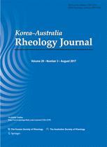 Korea-Australia Rheology Journal