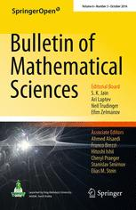 Bulletin of Mathematical Sciences