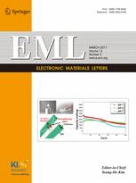 Electronic Materials Letters