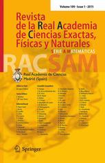 Revista de la Real Academia de Ciencias Exactas, Fisicas y Naturales. Serie A. Matematicas