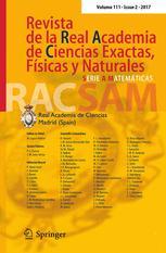 Revista de la Real Academia de Ciencias Exactas, Físicas y Naturales. Serie A. Matemáticas