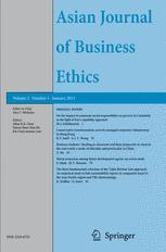 Asian Journal of Business Ethics