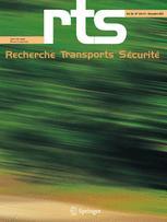 Recherche Transports Sécurité
