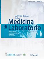 La Rivista Italiana della Medicina di Laboratorio - Italian Journal of Laboratory Medicine