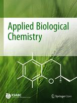 Journal of the Korean Society for Applied Biological Chemistry