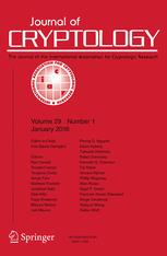 Journal of Cryptology
