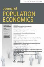 人口经济学杂志