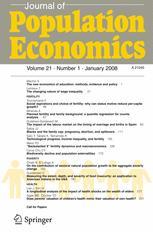 Journal of Population Economics