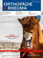 Orthopädie & Rheuma 5/2017