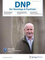 DNP - Der Neurologe und Psychiater 11/2014